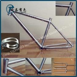 钛合金自行车架