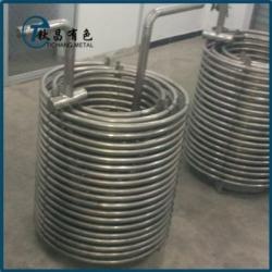 耐腐蚀设备用钛盘管